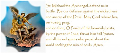 St. Michael the Archangel (a great protector of teens!)