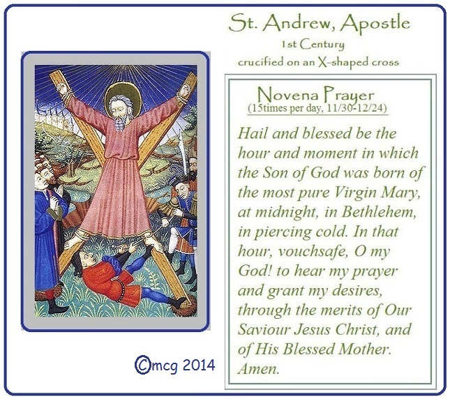 St. Andrew Novena Prayer
