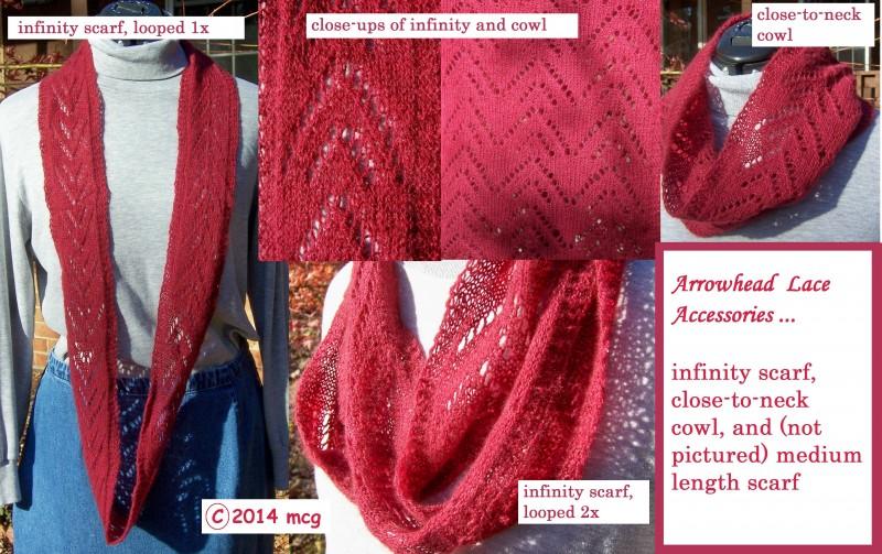 Arrowhead Lace Accessory