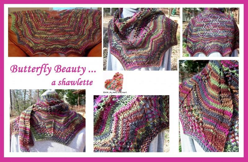 Butterfly Beauty ... a shawlette
