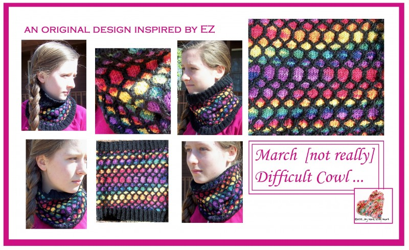 March Cowl Collage