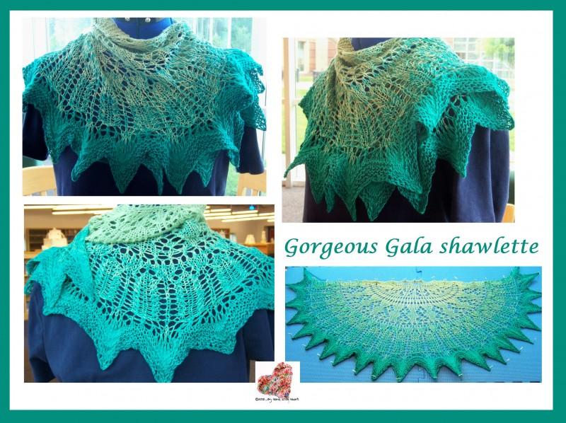 Gorgeous Gala shawlette