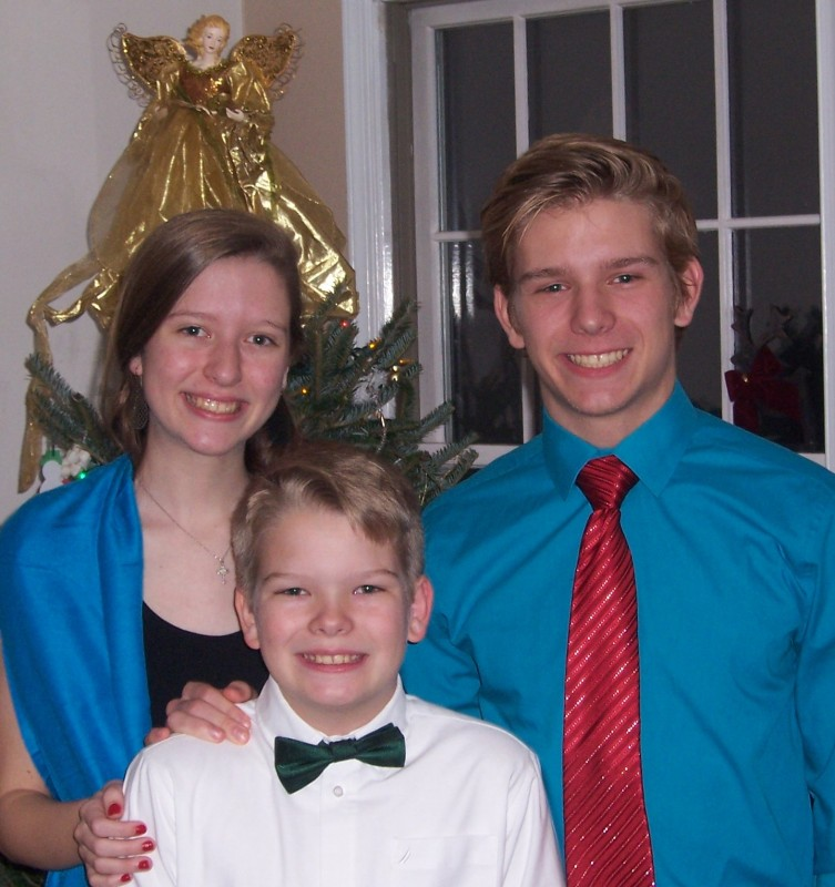 Thomas (16), Maggie (15), and JP (13)