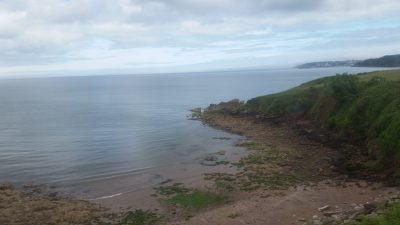 The English Riviera from a Steam Train