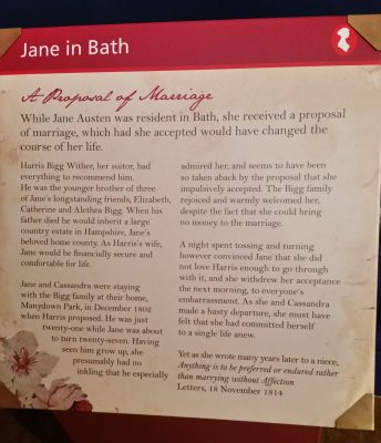 Northanger Abbey, Austen's first but not published until after her death, is based in Bath,