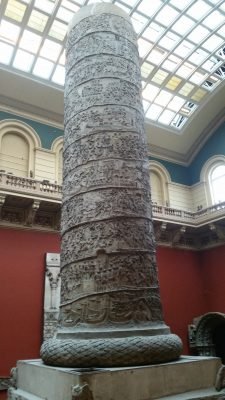 A cast of Trajan's Column