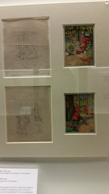 """An exhibit all about Beatrix Potter (one of our favorites!) and a """"ghost - illustrator"""" she tried out, Ernest Aris"""
