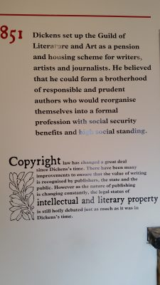 more about Dickens' work to protect intellectual property rights