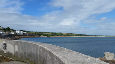 The view from Penzance harbor