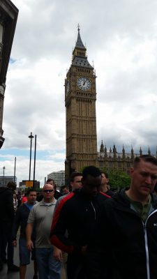 As the day clouded over, Maggie got a great shot of Big Ben