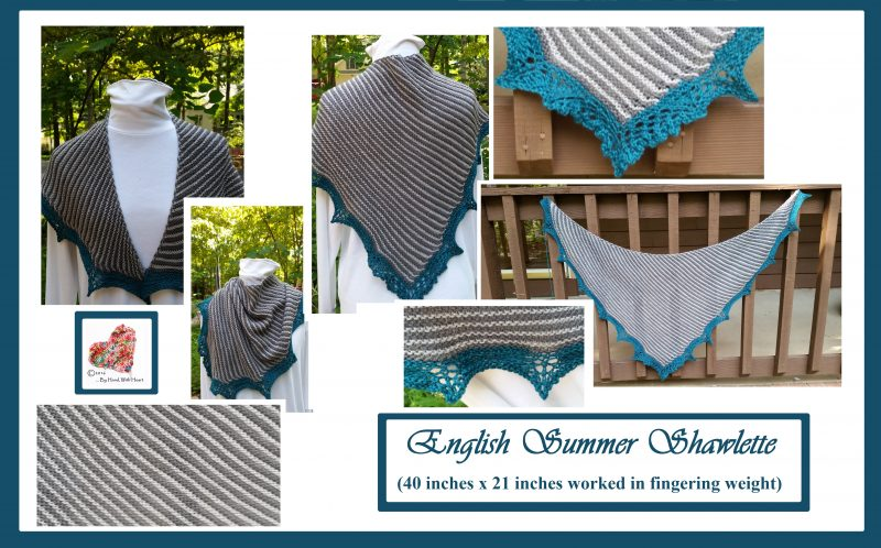 English Summer Shawlette